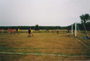DVO voetbalveld eind jaren '70