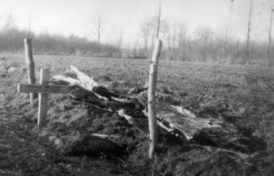 Foto 5 Tijdelijk graf Duitse vlieger